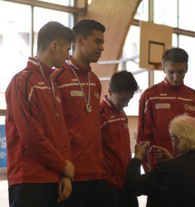 l'équipe masculine de la SE Lyon vice-championne de France N1