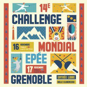 14e Challenge Mondial U17 Epée @ Halle Clémenceau