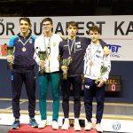 10/09/2019 : Gautier LARDY 3e à Budapest !