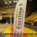 Clermont janvier 2020 : le Circuit Élite de fleuret M17, comme si vous y étiez !