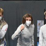 Trois fleurettistes aux «Monde» juniors