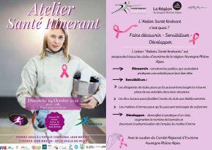 Atelier Santé Itinérant : escrime et cancer du sein @ Espace Jean Moulin, Vaulx en Velin